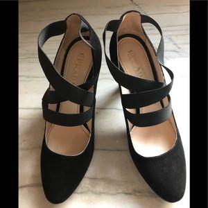 Prada Black Suede Shoes